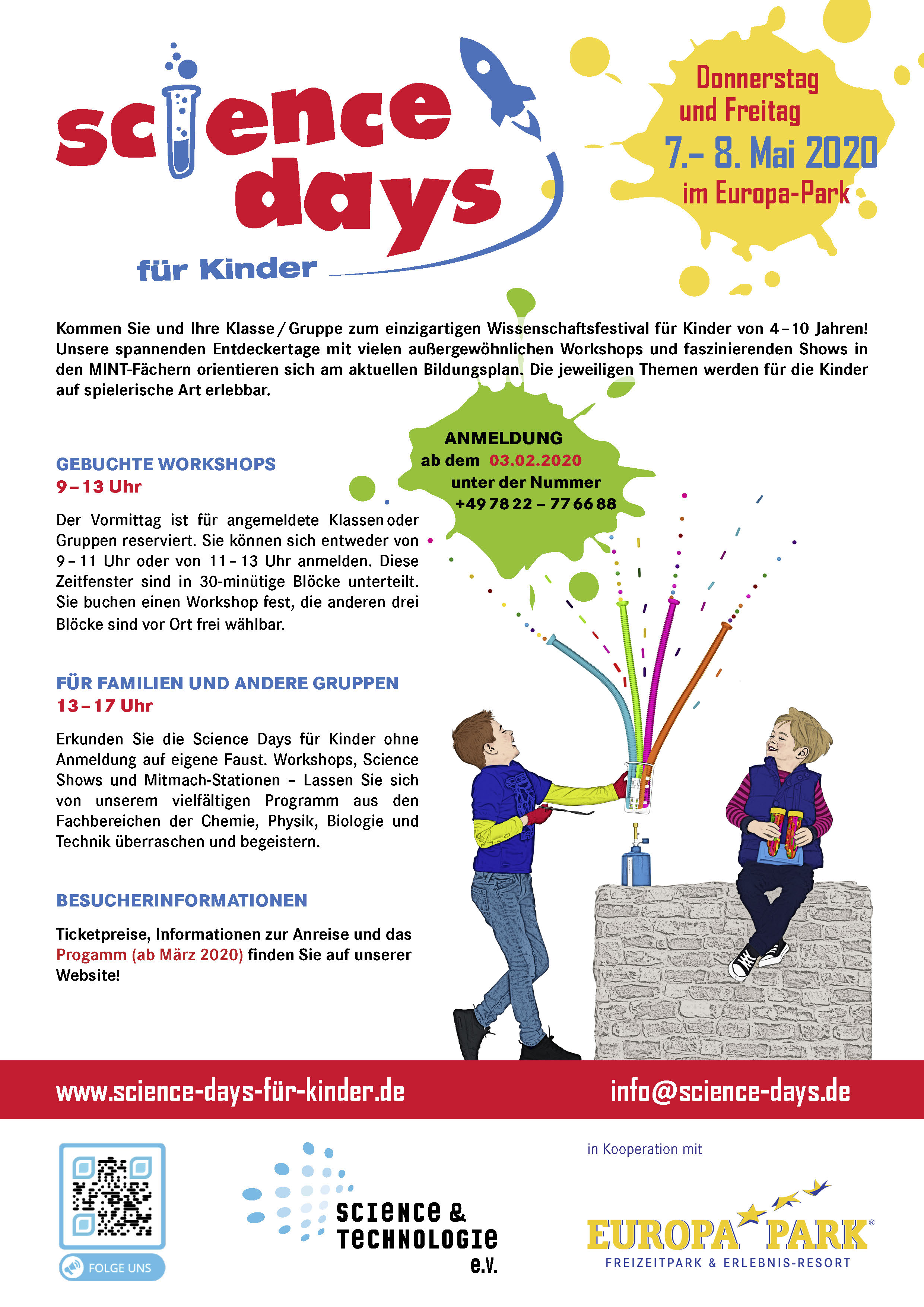 Science Days für Kunder 2020