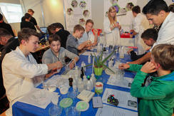Science Days Experimente im Workshop